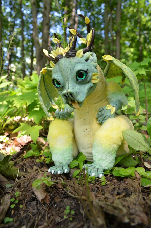 Дракон игрушка Лесная Гаргулья, Мягкие игрушки, Тула,  Фото №1