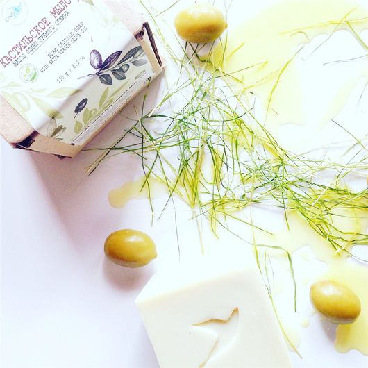 Мыло ручной работы. Ярмарка Мастеров - ручная работа. Купить Кастильское оливковое мыло. Handmade. Бежевый, оливковое мыло