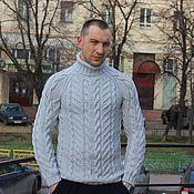 """Одежда ручной работы. Ярмарка Мастеров - ручная работа Свитер """"Мечта""""серый. Handmade."""