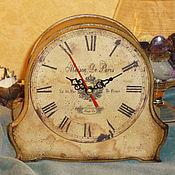"""Для дома и интерьера ручной работы. Ярмарка Мастеров - ручная работа Часы """"Maison De Paris"""". Handmade."""