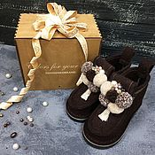 Обувь ручной работы handmade. Livemaster - original item Boots DENISENKOBRAND