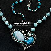 """Украшения ручной работы. Ярмарка Мастеров - ручная работа """"Sirene"""" Серебряное ожерелье. Handmade."""
