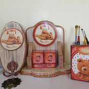 Для дома и интерьера handmade. Livemaster - original item Set of 3-items