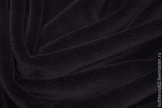 Шитье ручной работы. Ярмарка Мастеров - ручная работа. Купить ИСКУССТВЕННЫЙ МЕХ 14-003-1354. Handmade. Черный, хлопок