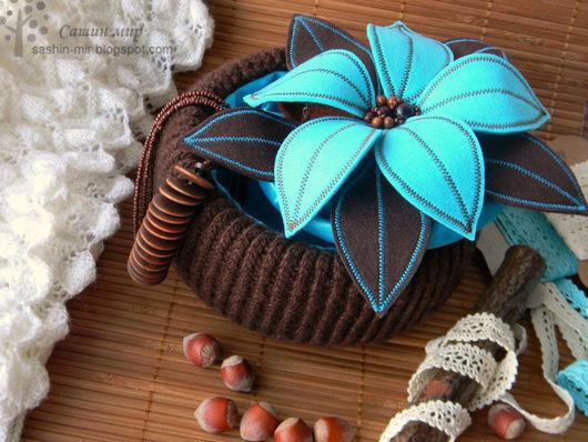 """Шкатулки ручной работы. Ярмарка Мастеров - ручная работа. Купить Шкатулка """"Бирюза+Шоколад"""". Handmade. Бирюзовый, шкатулка для украшений, подарок для женщины"""