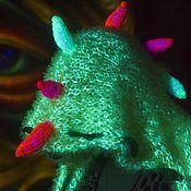Одежда ручной работы. Ярмарка Мастеров - ручная работа Жилетка Психоделичный дракоша. Handmade.