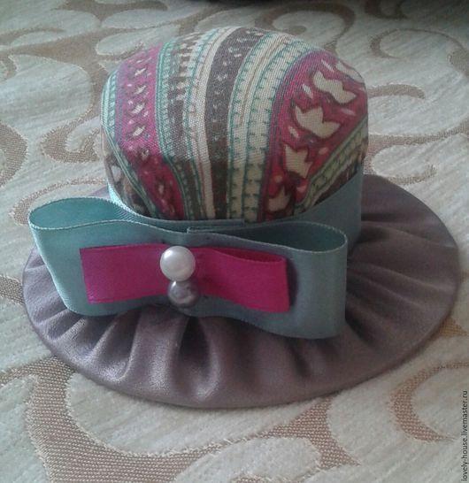 Другие виды рукоделия ручной работы. Ярмарка Мастеров - ручная работа. Купить Игольница Шляпка N5. Handmade. Разноцветный