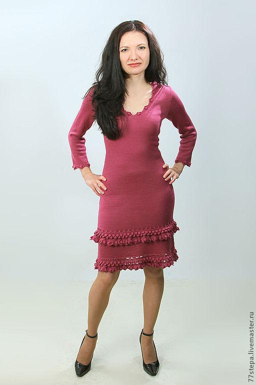 Платья ручной работы. Ярмарка Мастеров - ручная работа. Купить Платье вязаное 4484. Handmade. Платье, Платье нарядное
