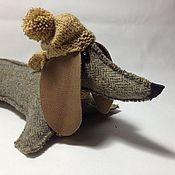 Куклы и игрушки handmade. Livemaster - original item dog. Dachshund. Symbol 2018. Handmade.