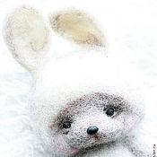 Куклы и игрушки ручной работы. Ярмарка Мастеров - ручная работа Игрушка из шерсти Зайка. Handmade.