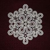 Для дома и интерьера handmade. Livemaster - original item Lace doilies. Vyatka,Vologda, lace.. Handmade.