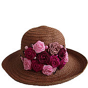 Аксессуары handmade. Livemaster - original item Hat FOR your FAVORITE DESSERT. Handmade.