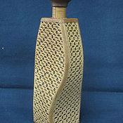 Подарки к праздникам ручной работы. Ярмарка Мастеров - ручная работа Бутылка из бересты МАДАМ. Handmade.