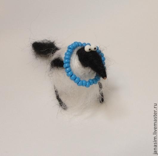 Игрушки животные, ручной работы. Ярмарка Мастеров - ручная работа. Купить Сорока. Handmade. Чёрно-белый, игрушка из ниток