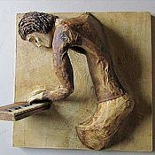 """Для дома и интерьера ручной работы. Ярмарка Мастеров - ручная работа Скульптура """"Соло на клавишах"""". Handmade."""