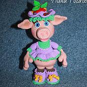 Куклы и игрушки handmade. Livemaster - original item Pig Donya. Handmade.