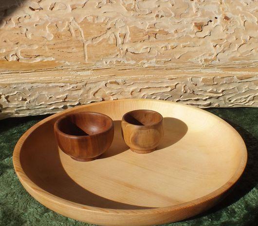 Кружки и чашки ручной работы. Ярмарка Мастеров - ручная работа. Купить Креманка из текстурной древесины.. Handmade. Посуда, посуда из дерева