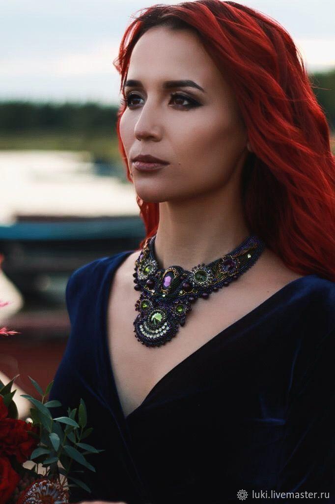 Колье `Эмилия` от  MarinaArtJewelryShop