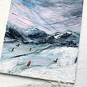 Картины и панно handmade. Livemaster - original item Acrylic painting