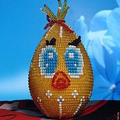 Подарки к праздникам ручной работы. Ярмарка Мастеров - ручная работа пасхальная цыпа. Handmade.