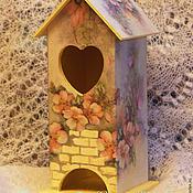 """Для дома и интерьера ручной работы. Ярмарка Мастеров - ручная работа Чайный домик """"Яблоневый цвет"""".. Handmade."""