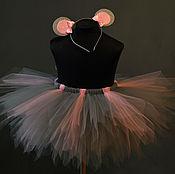 """Работы для детей, ручной работы. Ярмарка Мастеров - ручная работа Костюм """"Мышка-нарушка"""" Юбочка+ушки. Handmade."""