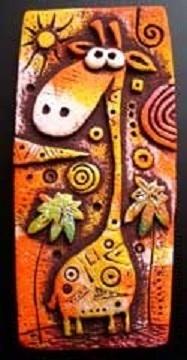 Магниты ручной работы. Ярмарка Мастеров - ручная работа. Купить жираф африканский. Handmade. Жираф, жирафик, жирафы, жирафа
