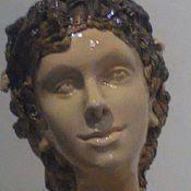 Для дома и интерьера handmade. Livemaster - original item Ceramic portrait of the