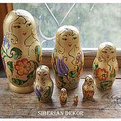 Русский стиль handmade. Livemaster - original item Golden Doll with fabulous colors.. Handmade.