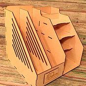 Мини-комоды ручной работы. Ярмарка Мастеров - ручная работа Органайзер канцелярский с логотипом. Handmade.