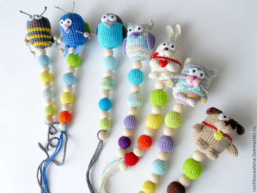 """Развивающие игрушки ручной работы. Ярмарка Мастеров - ручная работа. Купить Слингоигрушка, прорезыватель, погремушка """"Мотылёк"""" 3 в 1!. Handmade."""