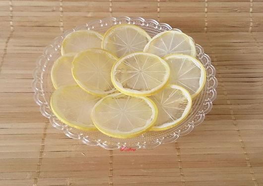 Дольки лимонные тонкие Ф54