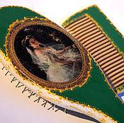 """Сувениры и подарки ручной работы. Ярмарка Мастеров - ручная работа Расчески  """"Старинный фарфор""""  2.. Handmade."""