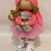 Куклы и пупсы ручной работы. Ярмарка Мастеров - ручная работа Кукла зайка. Handmade.