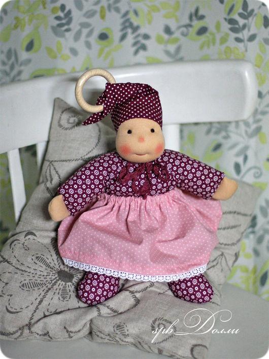 Вальдорфская игрушка ручной работы. Ярмарка Мастеров - ручная работа. Купить Черёмушка - кукла вальдорфская ручной работы для самых маленьких. Handmade.