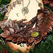 Украшения ручной работы. Ярмарка Мастеров - ручная работа Ожерелье с турмалином. Handmade.