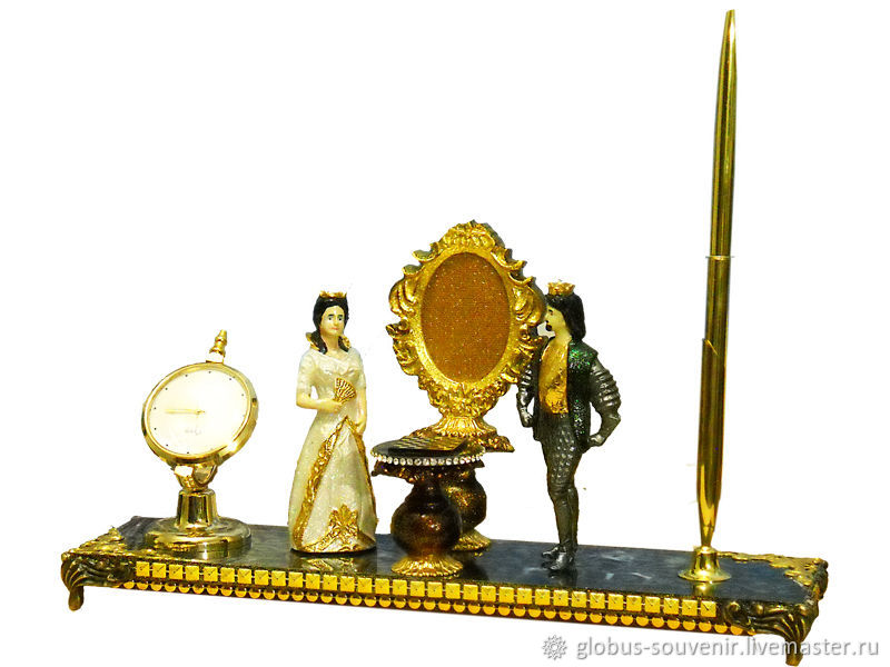 Шахматистам  сувенир.  Король и  королева, Статуэтка, Симферополь,  Фото №1