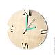 Часы для дома ручной работы. Ярмарка Мастеров - ручная работа. Купить Часы из дерева Норд. Часы ручной работы. Handmade.