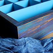Короб ручной работы. Ярмарка Мастеров - ручная работа Короб для хранения. Ящик деревянный. Handmade.