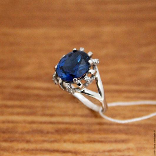 Кольца ручной работы. Ярмарка Мастеров - ручная работа. Купить Серебряное кольцо Аква, серебро 925 пробы. Handmade.
