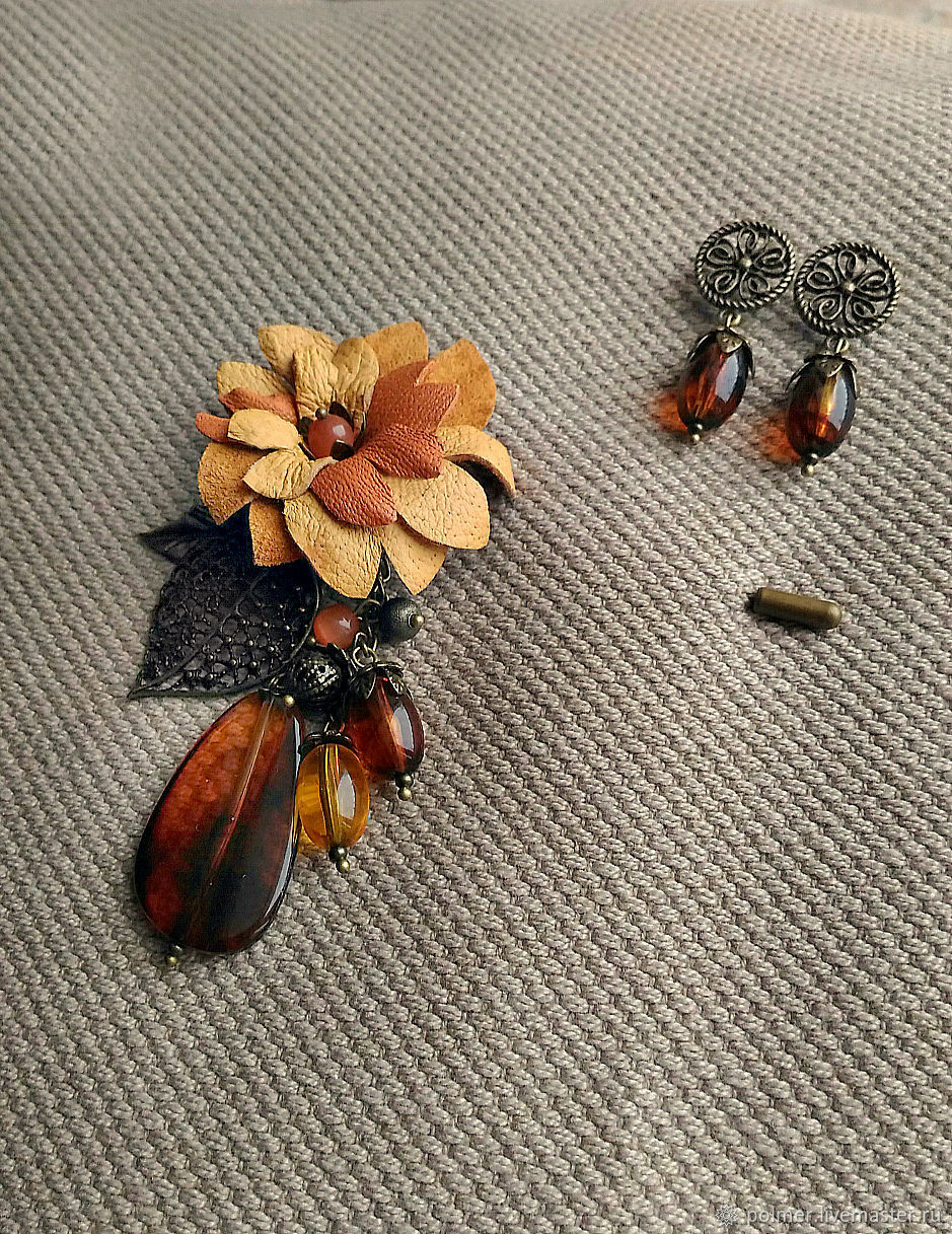 Brooch pin Autumn ( gift), Brooches, Voronezh,  Фото №1