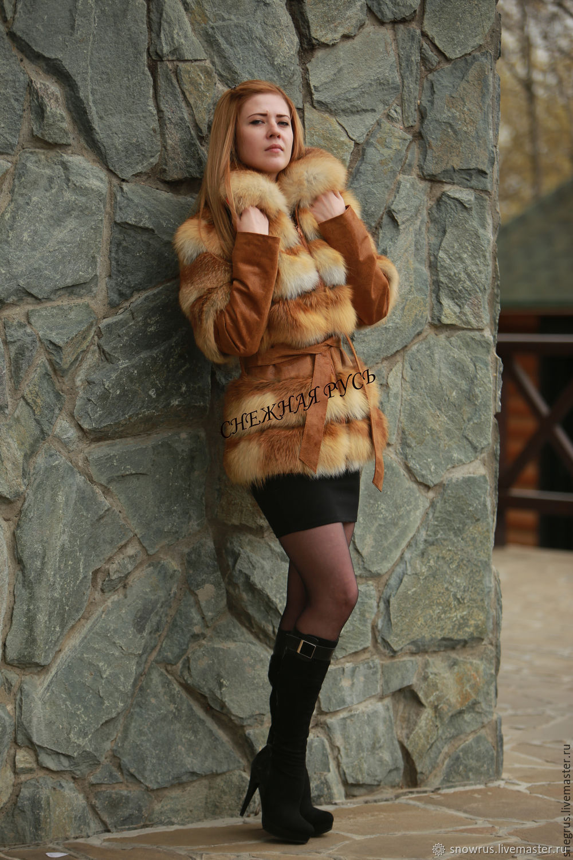Fur coat Fox fur, Fur Coats, Pyatigorsk,  Фото №1