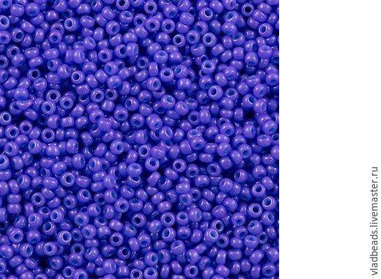 Бисер круглый Miyuki 1477 11/0 Opaque Dyed Bright Purple, , Владивосток, Фото №1