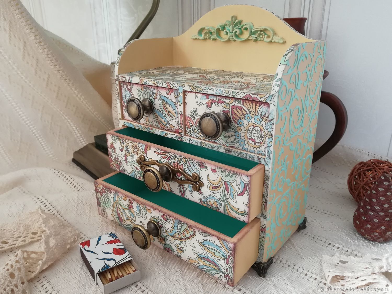 Mini-komodik 'Mint beauty', Mini Dressers, Pushkin,  Фото №1