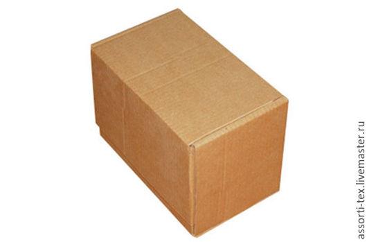 Упаковка ручной работы. Ярмарка Мастеров - ручная работа. Купить Самосборная почтовая коробка 265х165х190 тип Г. Handmade. Бежевый