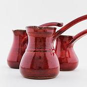 Посуда ручной работы. Ярмарка Мастеров - ручная работа Турка для кофе. Handmade.