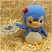 Мягкие игрушки ручной работы. Ярмарка Мастеров - ручная работа Девочка пингвиненок. Handmade.