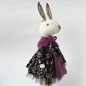 Куклы и игрушки ручной работы. Ярмарка Мастеров - ручная работа Milly. Текстильный кролик.. Handmade.