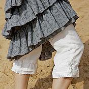 Одежда ручной работы. Ярмарка Мастеров - ручная работа Панталоны. Handmade.