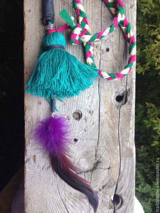 Комплекты аксессуаров ручной работы. Ярмарка Мастеров - ручная работа. Купить кисти для танцев Tribal или для сумок, юбок. Handmade.